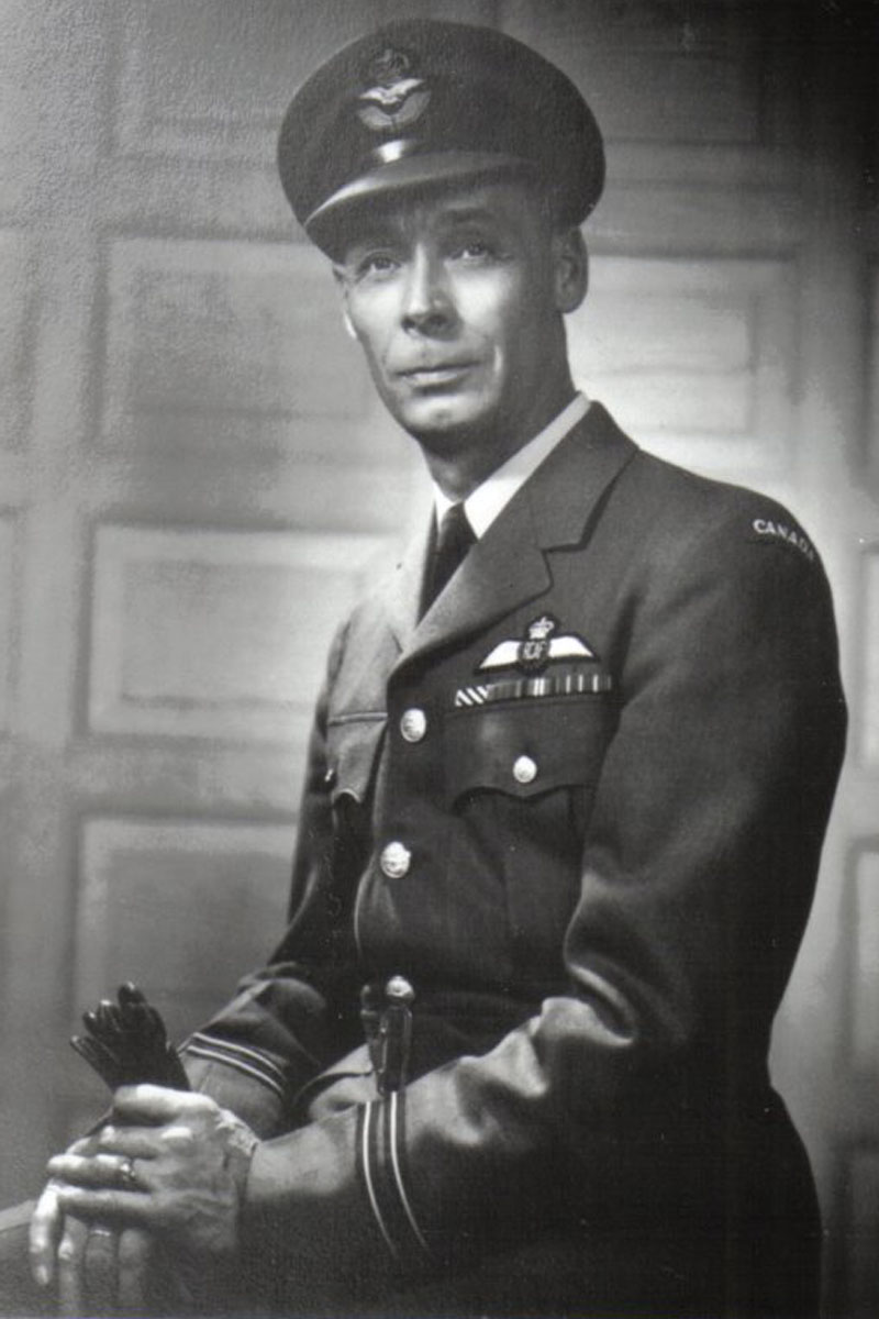 Flight Lieutenant Glen Rawson was a member of the first class of pilots to graduate as part of the British Commonwealth Air Training Plan in 1940.
