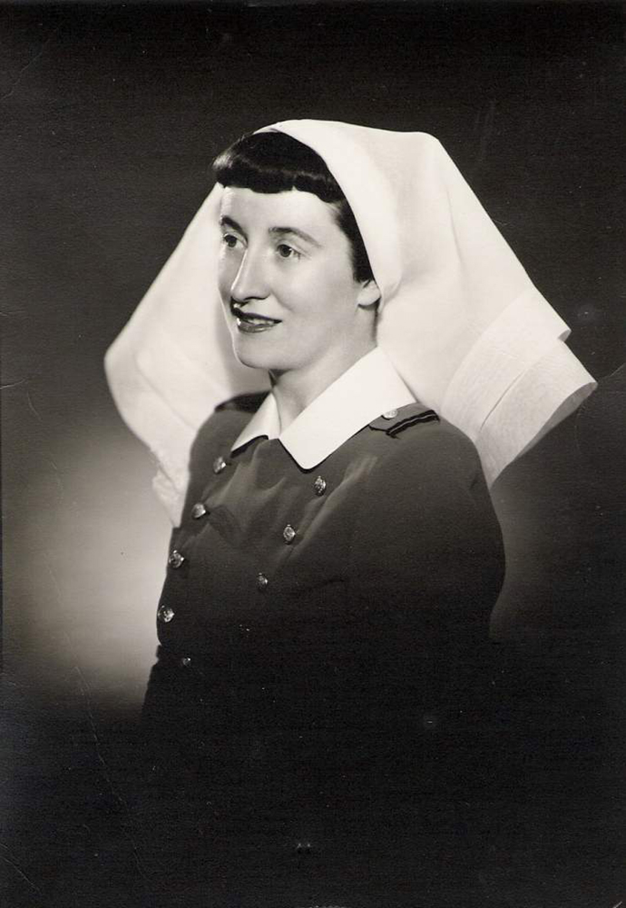 Grace MacEachern as a nursing sister. PHOTO: MacEachern Family Archives