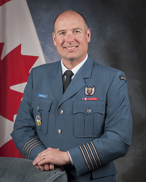 Colonel Mark Lachapelle, CD