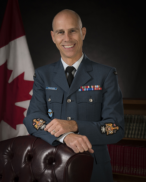 Chief Warrant Officer Faucher