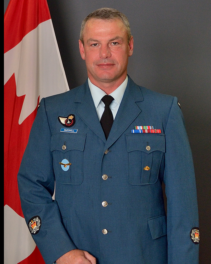Master Warrant Officer Dave McDowell